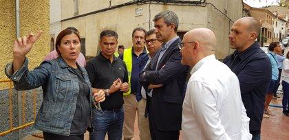 """Delegado del Gobierno dice que estudiarán """"inmediatamente"""" posibles actuaciones conjuntas para evitar riadas en Cebolla"""