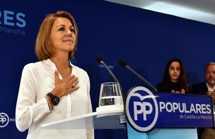 """Cospedal, sobre su renuncia al liderazgo del PP en CLM: """"Presentarse cuatro veces a unas elecciones es excesivo"""""""