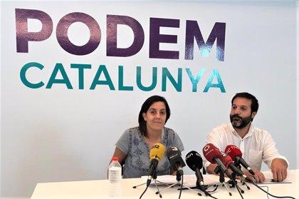 Podem no participará en las manifestaciones que no interpelen a todos los catalanes