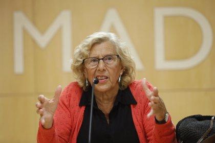 """Carmena dice sobre el PSOE que en su plataforma """"hay sitio para todas las personas, tengan el carnet que tengan"""""""