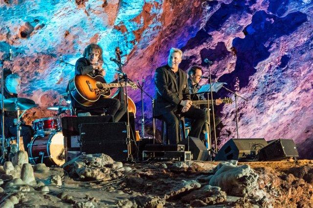 Loquillo en concierto en El Soplao