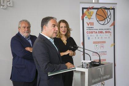 Diputación de Málaga y Canal Sur firman un acuerdo para retransmitir el Torneo Internacional de Baloncesto Costa del Sol