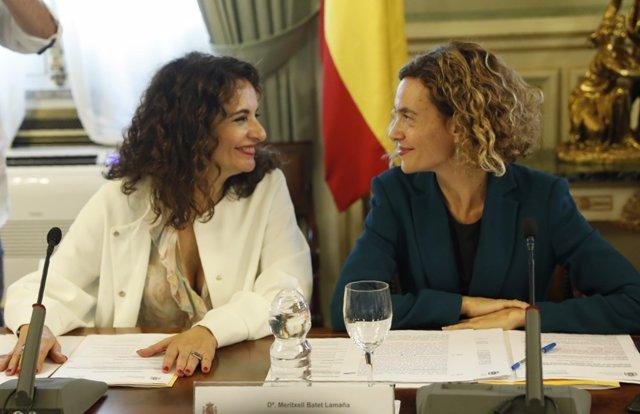 Montero y Batet presiden la Comisión Nacional de Administración Local