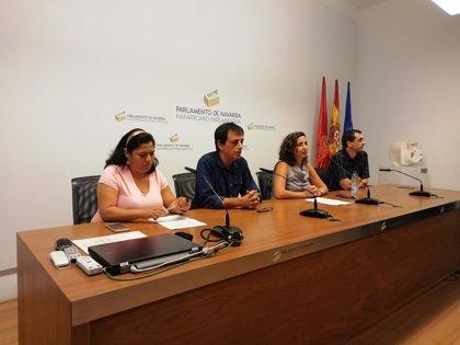 Los críticos de Podemos quieren una comisión de investigación en el Parlamento de Navarra sobre el Rey Emérito