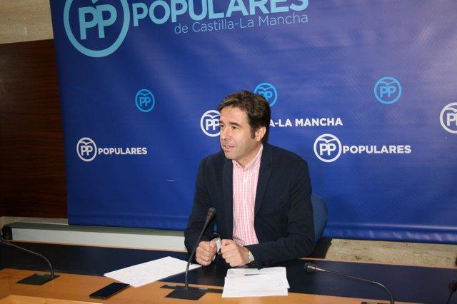 Gpp Clm (Cortes De Voz Y Fotografía) Rueda De Prensa De Lorenzo Robisco