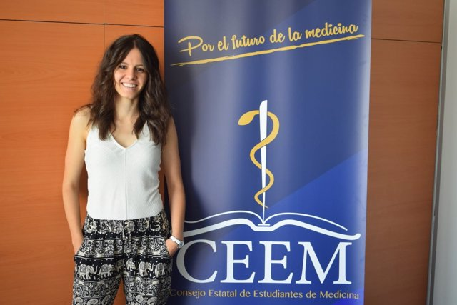 Laura Martínez, presidenta electa del Consejo Estatal de Estudiantes de Medicina