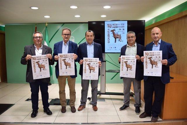 Presentación de la fiesta de la cabra de Casabermeja