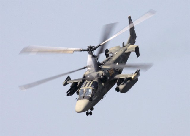 Helicóptero de combate ruso Ka-52