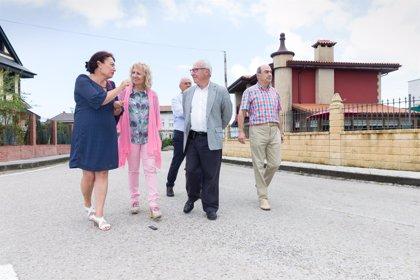 El Gobierno completa el saneamiento del barrio Cerros de Seña