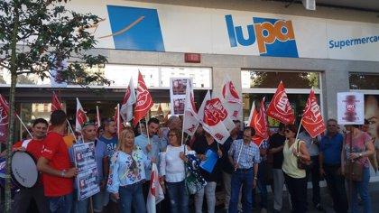 UGT seguirá con las movilizaciones contra las cajas autocobro de Lupa