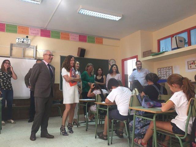 Inicio del curso escolar en la provincia de Cádiz