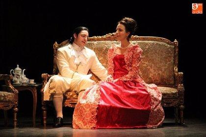 Teatro Arcón de Olid lleva el Siglo de las Luces al Teatro Carrión de Valladolid con la obra 'Amistades Peligrosas'
