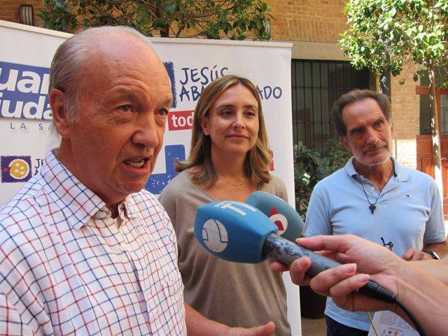 José Moreno, Conchita Ruiz y el Hermano Martín Cuenca