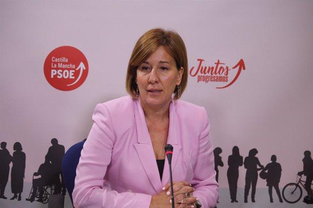 La portavoz del PSOE en las Cortes de C-LM, Blanca Fernández