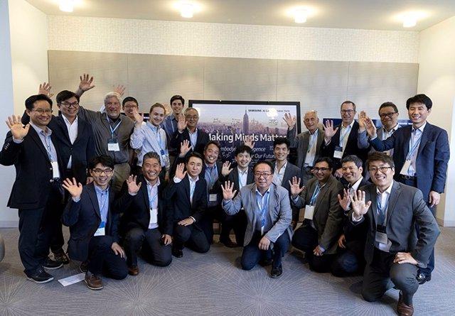 Presentación del centro de IA de Samusng Research en Nueva York