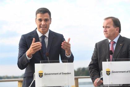 El PSOE felicita al primer ministro sueco por su victoria en las elecciones parlamentarias