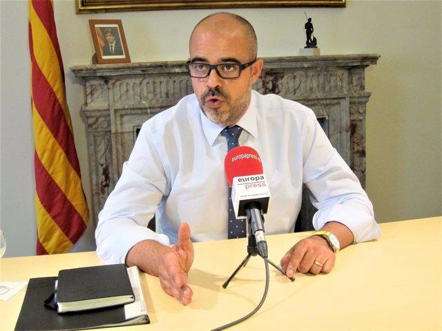 Miquel Buch, conseller de Interior de la Generalitat