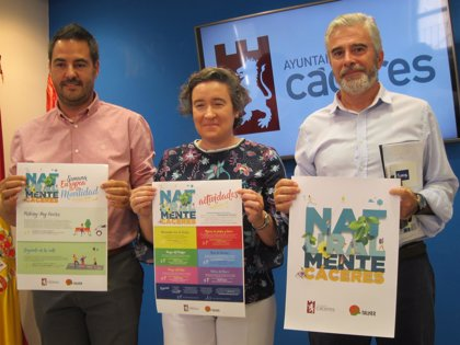 Comienzan las actividades de 'Naturalmente, Cáceres' con una decena de propuestas en septiembre