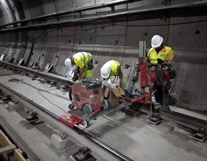 Las obras de Metrosur avanzan y están al 50%, mientras Transportes anuncia refuerzo del bus lanzadera