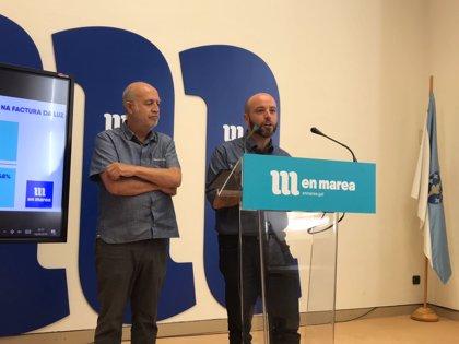 """En Marea urge reducir el IVA del servicio básico de la luz ante la """"verdadera electrocución"""" que se espera en el recibo"""