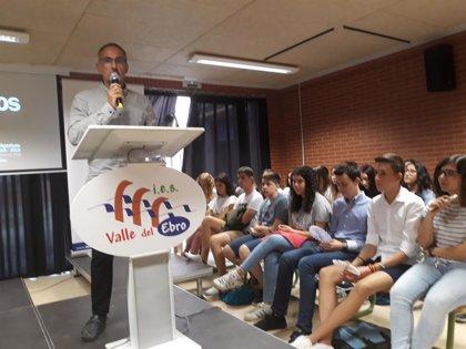 Una treintena de estudiantes comienza el Bachillerato de Investigación en el IES Valle del Ebro