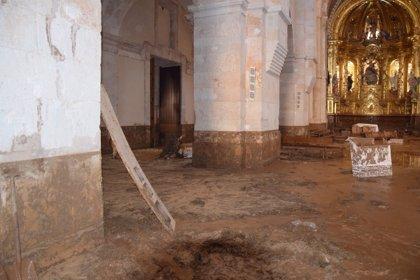 El Monasterio de Santa María de Huerta (Soria), el más afectado por las inundaciones