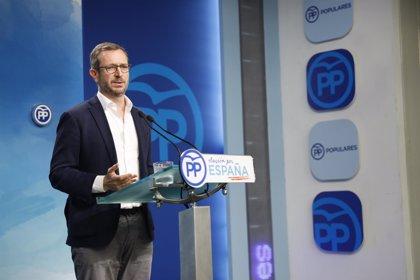 """EL PP dice que el máster de Montón es un """"problema"""" para Sánchez que evidencia el """"doble rasero"""" del PSOE"""