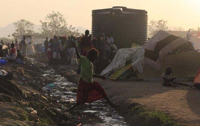 Niños en Sudán del Sur