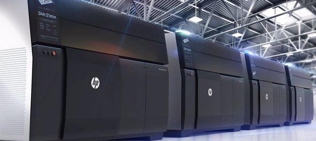 Impresoras 3D HP Metal Jet