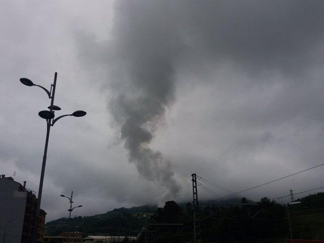 Contaminación, humo, Medio Ambiente