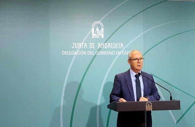 Juan Luis Belizón, delegado de la Junta en Cádiz