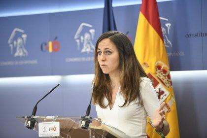 """Podemos pide al Gobierno que """"rectifique"""" y confirme la suspensión de la venta de bombas a Arabia Saudí"""