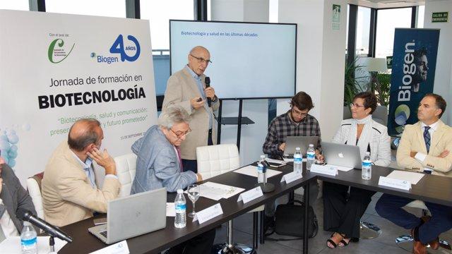 Jornada organizada por Biogen