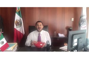 ¿En qué consiste el #TUPPERCHALLENGE que lanzó el presidente del Senado de Ciudad de México, Martín Batres?