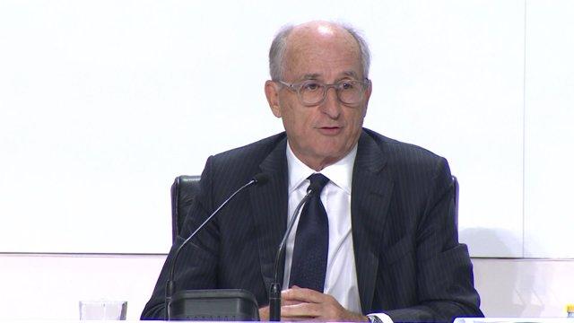 Antonio Brufau en la junta general de accionistas de Repsol