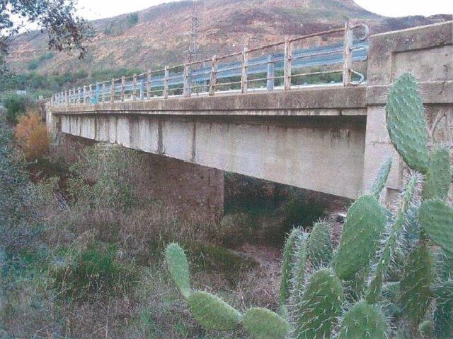 Puente de la A-477 entre Sanlúcar y Aznalcóllar