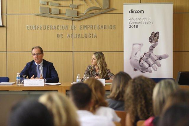 Dircom presenta en la sede de la CEA su anuario 2018