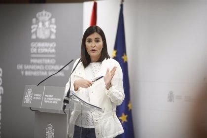 La ministra Monton comparece para anunciar su dimisión como ministra de Sanidad
