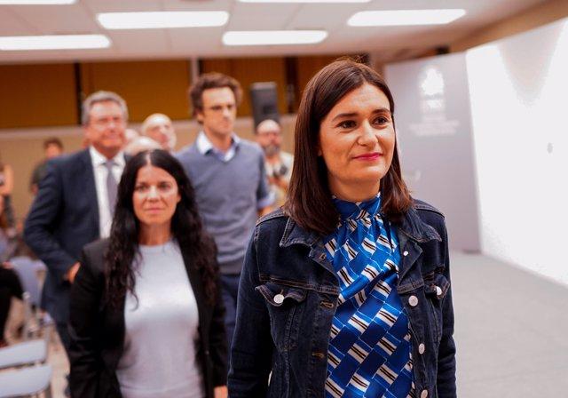 La exministra de Sanidad, Carmen Montón