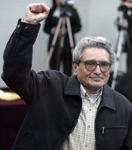 Abimael Guzmán, líder encarcelado de Sendero Luminoso