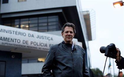 El PT confirma a Fernando Haddad como su candidato a las presidenciales tras la eliminación de Lula