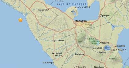 Un terremoto de 5,3 sacude Nicaragua sin provocar víctimas