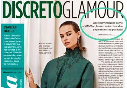 """Un suplemento de moda mexicano apuesta por """"mostrar poca piel"""" para frenar el acoso sexual a las mujeres"""