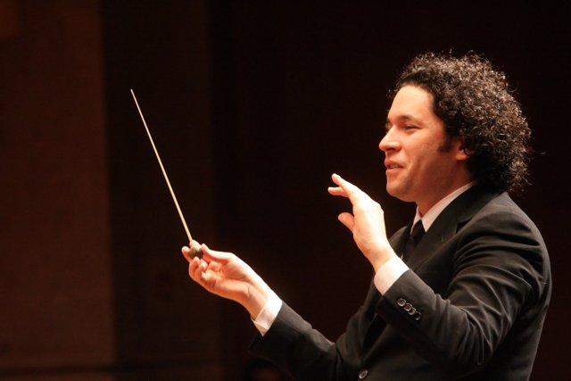 Gustavo Dudamel en el Palau de la Música