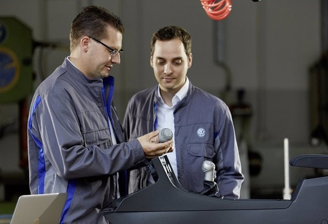 Trabajadores de Volkswagen