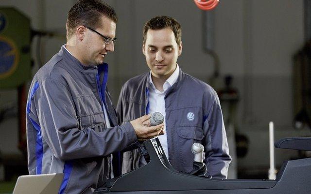 Volkswagen asegura estar preparada para usar la impresión 3D en la producción en masa