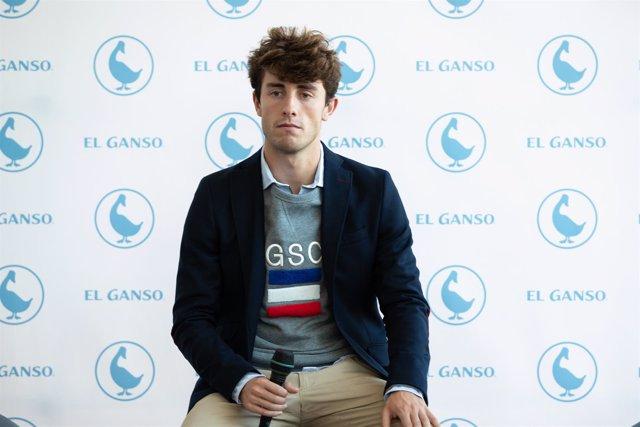 Alvaro Odriozola en un acto de El Ganso