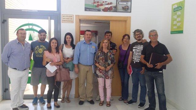 Participantes en las jornadas del programa Crece