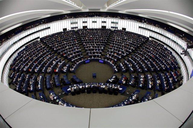 Foto de archivo del Parlamento Europeo