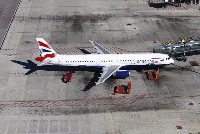 Finger o gusano,  British Airways